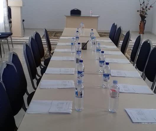 Первое организационное заседание местного Совета села Казаклия