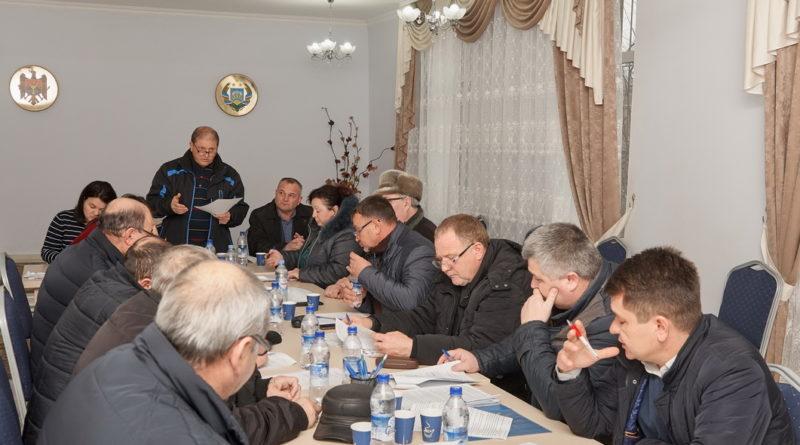 Внеочередная сессия Совета села Казаклия.
