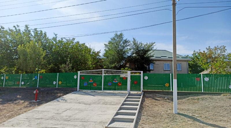 Возобновление работ детских садов.